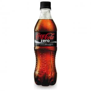 coca cola zero botella plastica