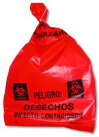 bolsa roja bioinfeccioso