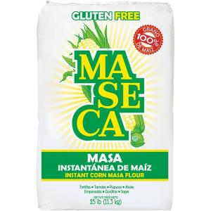 harina maseca masa instantanea de maiz 25 lb