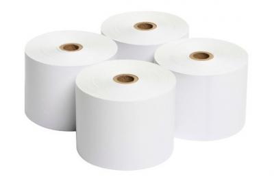rollo de papel termico caja registradora