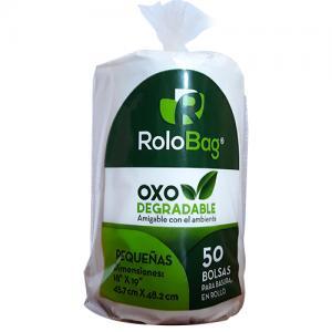 bolsa biodegradable pequenia