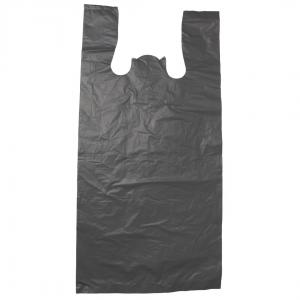 bolsa de gabacha o camiseta color negro grande