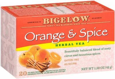 te bigelow herbal orange