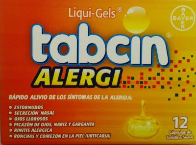 Tabcin alergi